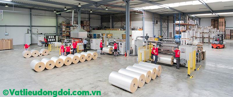 Sản xuất màng PE công nghiệp