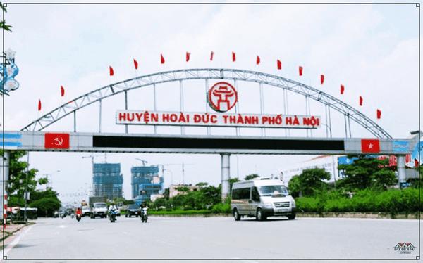 Vị trí địa lý huyện Phú Xuyên