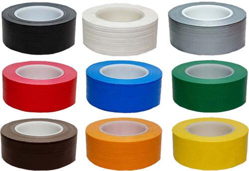 Băng dính vải 2 mặt đa dạng về màu sắc