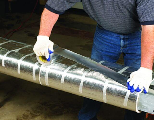 Băng dính bạc sử dụng trong công nghiệp
