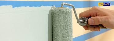 Sử dụng băng dính giấy trong ngành sơn đã không còn xa lạ