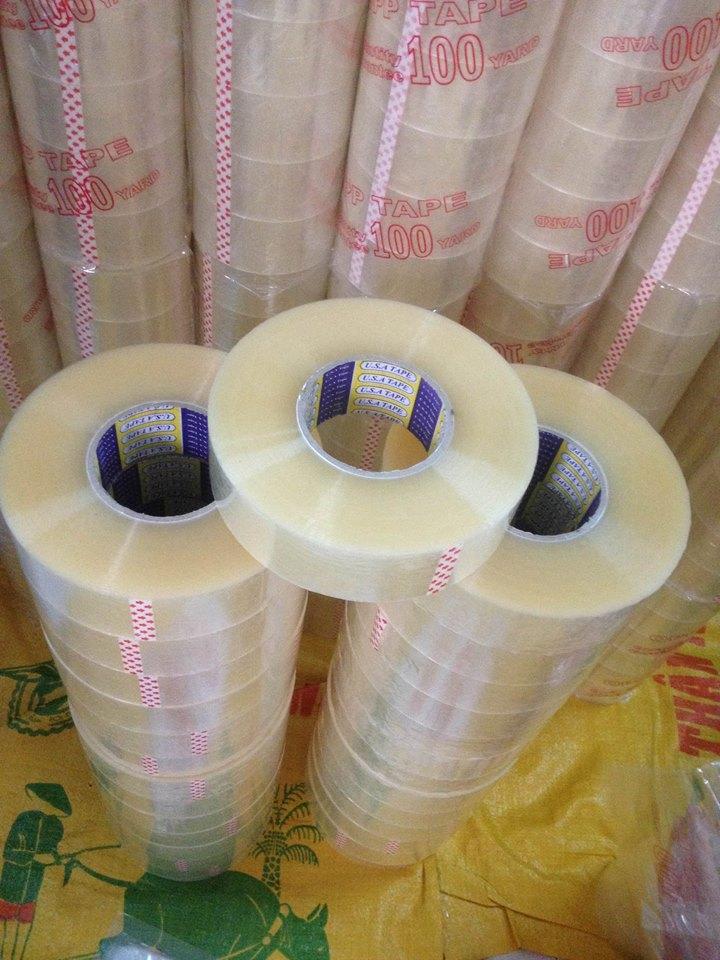 Băng dính trong cuộn to