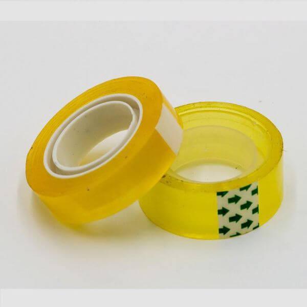 Băng dính vàng chanh được sử dụng phổ biến trong cuộc sống hàng ngày