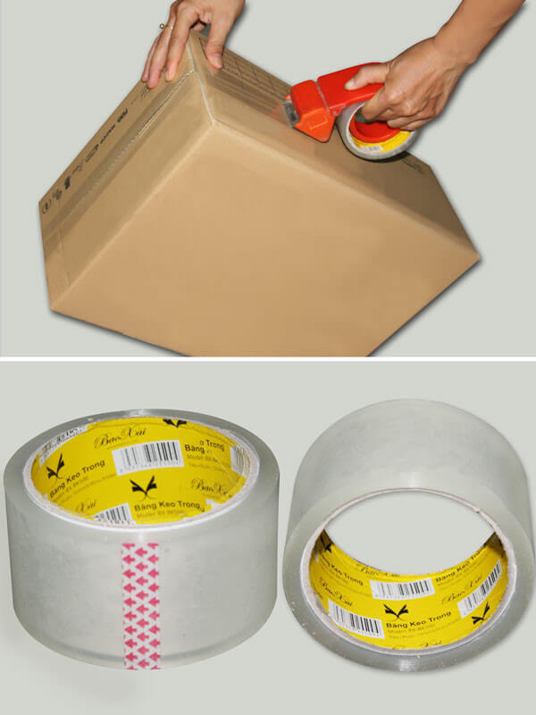 Căn cứ vào nhu cầu sử dụng để lựa chọn loại băng keo sinh hoạt hay băng keo công nghiệp