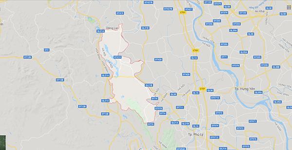 Vị trí địa lý huyện Mỹ Đức
