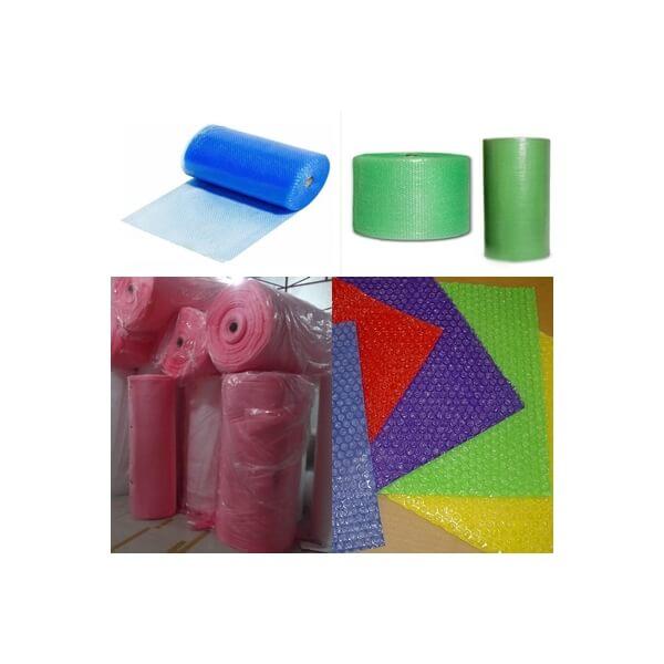 Cuộn xốp hơi có nhiều màu khác nhau