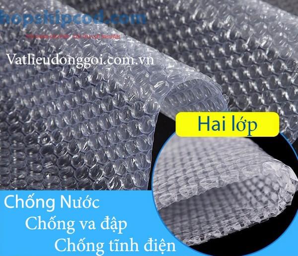 Sản phẩm cuộn xốp hơi thương hiệu Vật Liệu Đóng Gói 2T