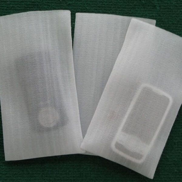 Gói sản phẩm bằng mút xốp PE Foam 5mm