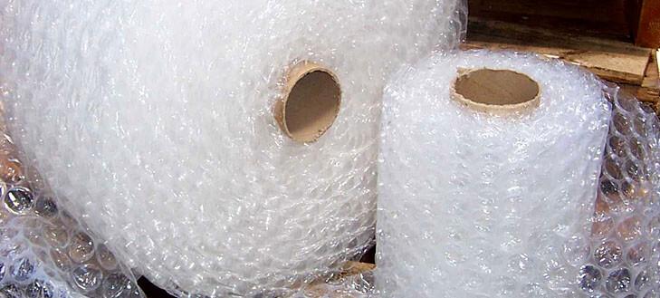 Túi xốp khí gia công đóng túi từ cuộn xốp khí