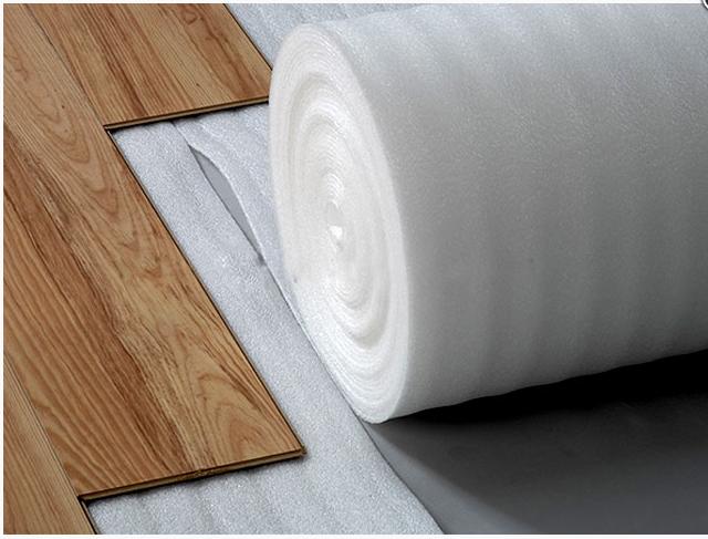 Lớp lót sàn gỗ tráng nilon một mặt