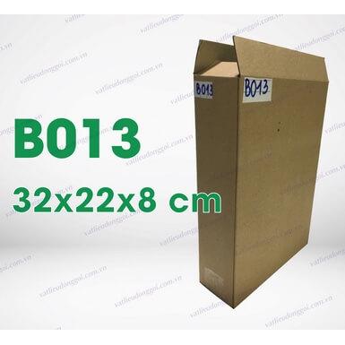 Hộp carton B013 kích thước 22x8x32cm