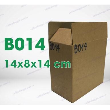 Hộp carton B014 kích thước 14x8x14cm