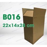 Hộp carton B16 kích thước 22x14x28cm