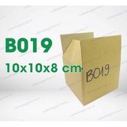Hộp carton B019 kích thước 10x10x8cm