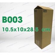 Hộp carton B003 kích thước 10.5x10x28.5cm