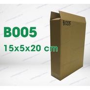 Hộp carton B005 kích thước 15x5x20cm